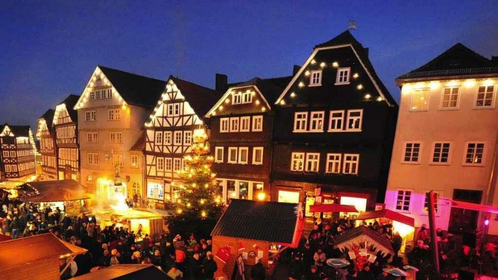Alsfeld Weihnachtsmarkt.Weihnachtsmarkt In Der Altstadt Von Fritzlar Heimat Nachrichten