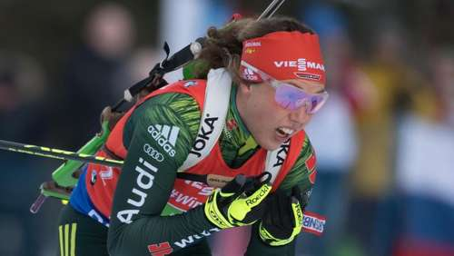 Dahlmeier sprintet in Antholz am Podium vorbei