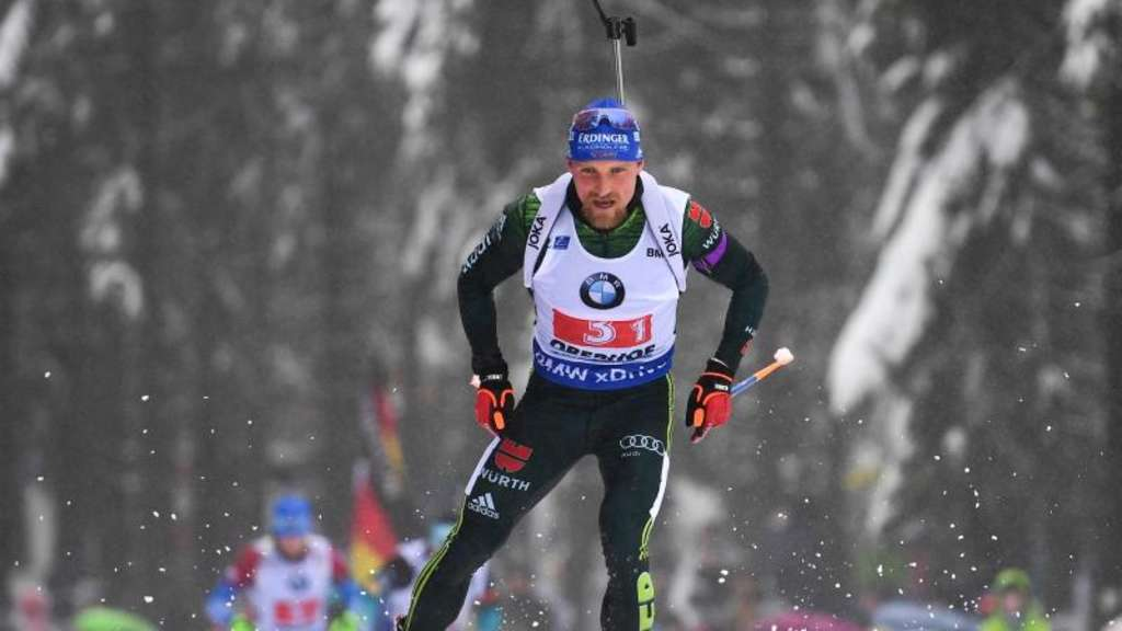 In Antholz will Erik Lesser die WM-Norm knacken. Foto: Hendrik Schmidt