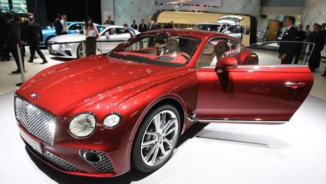 Bentley Continental Speed in Heiligenrode geklaut