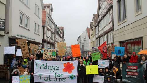 """Fridays for Future"" in Bad Hersfeld"
