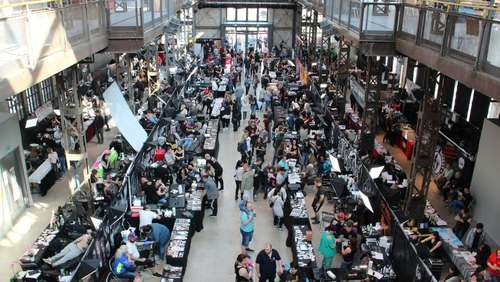 Surrende Nadeln: Viel Interesse an zweiter Tattoo-Convention in der Schildehalle
