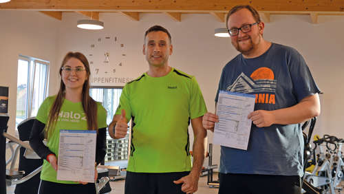 Der Fitness-Blog: Das Training kann beginnen!