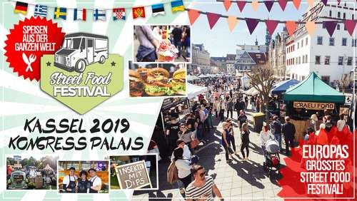 Street Food Festival kommt vom 26.-28. April zum Kongress Palais Kassel