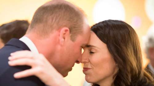 Prinz William in Christchurch - Treffen mit Terror-Opfern