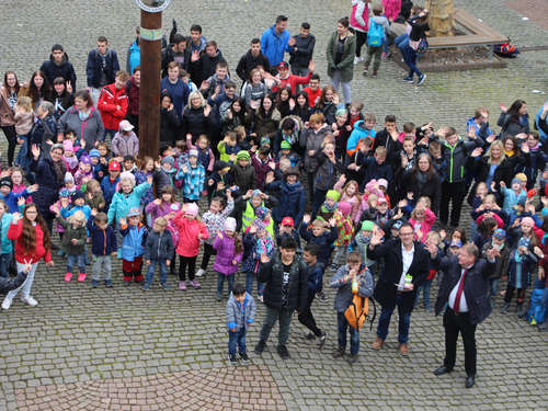 "Aktion ""Sauberhafter Kindertag"" in Sontra"