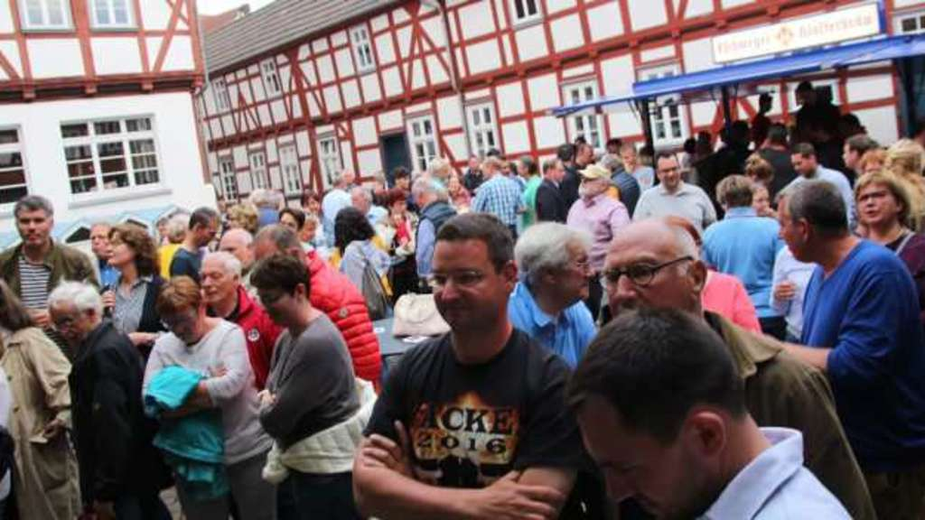 Wahlparty in Wanfried