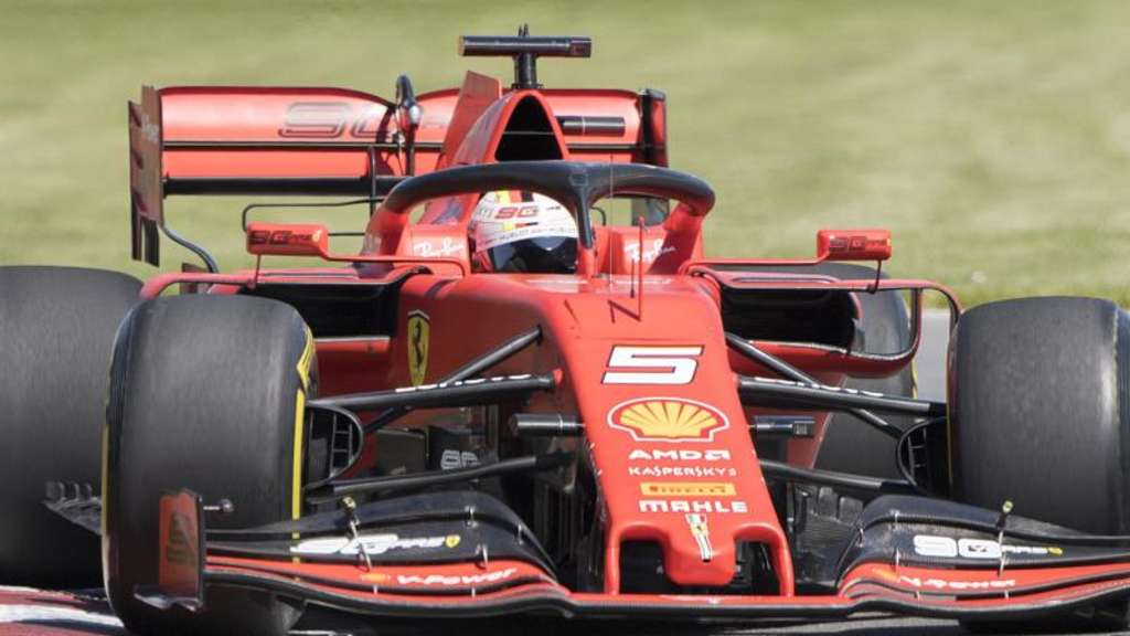 Fuhr im ersten Training in Kanada hinterher: Ferrari-Pilot Sebastian Vettel. Foto: Graham Hughes/The Canadian Press/AP
