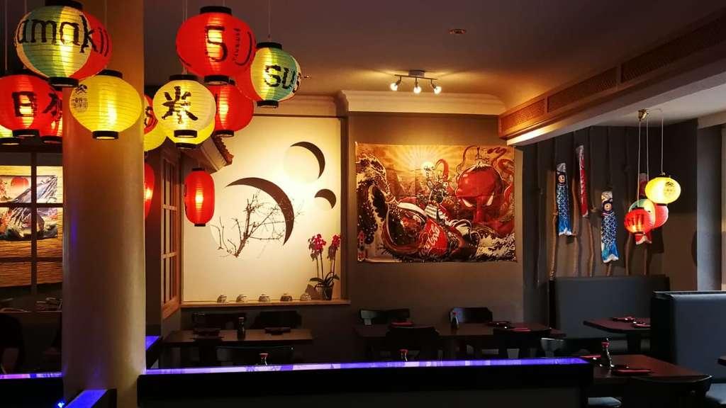 Neueröffnung Jamakii Sushi Grill In Der Frankfurter Straße In