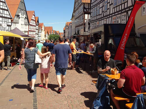 Burger, Langos & Co.: Streetfood-Festival in Bad Wildungen