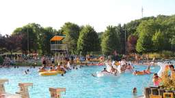 After-Work-Party im Freibad Sontra