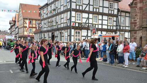 Strandfest-Highlight: Der Festumzug durch Rotenburg