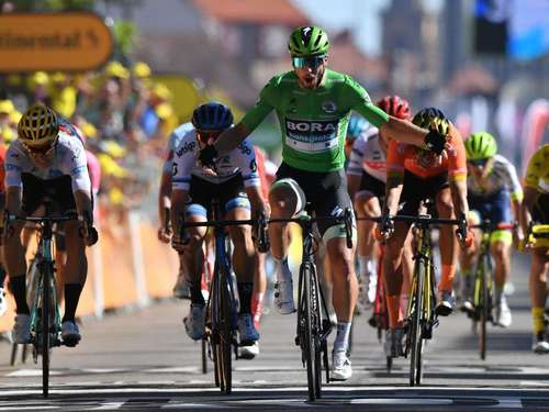 Rad-Superstar Sagan sprintet in Colmar zum Sieg