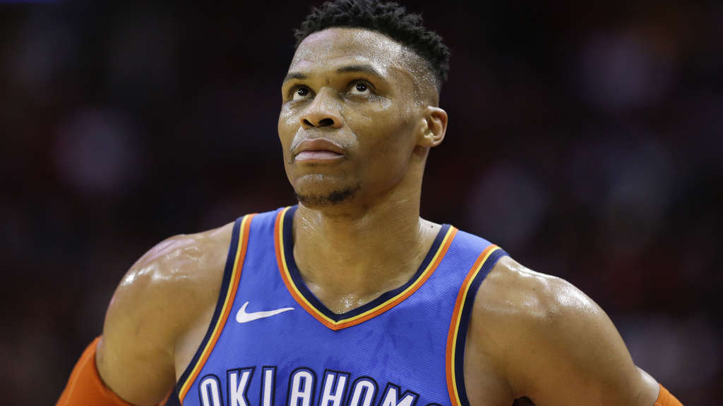 Nächster Star-Transfer in der NBA: Westbrook zu den Houston Rockets.
