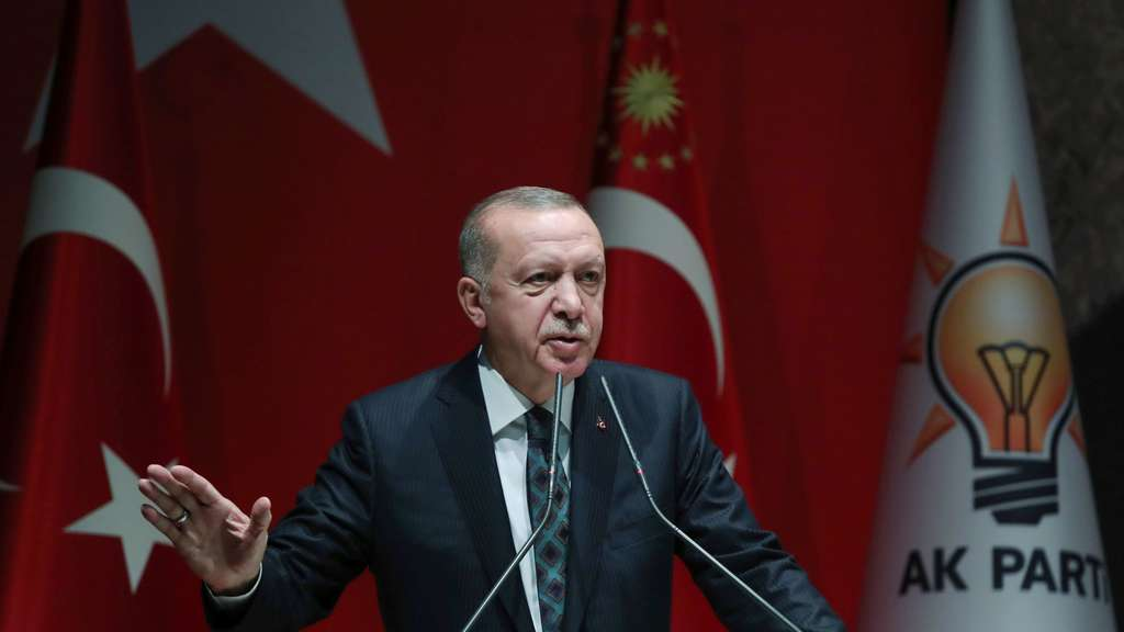 Erdogan kritisiert die US-Resolution.