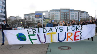 Fridays for Future: 3000 Kasseler demonstrieren zum 4. globalen Klimastreik