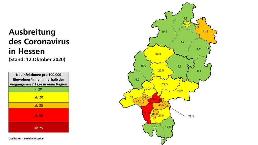 Hessen Coronavirus Fälle