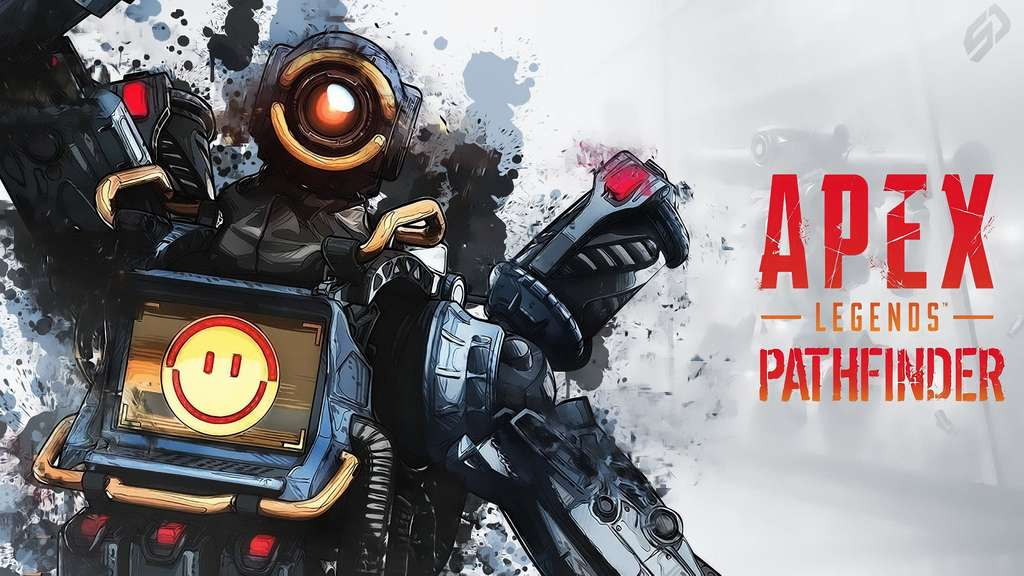 Der Pathfinder in Apex Legends besitzt einen Greifhaken (Grappling Hook)