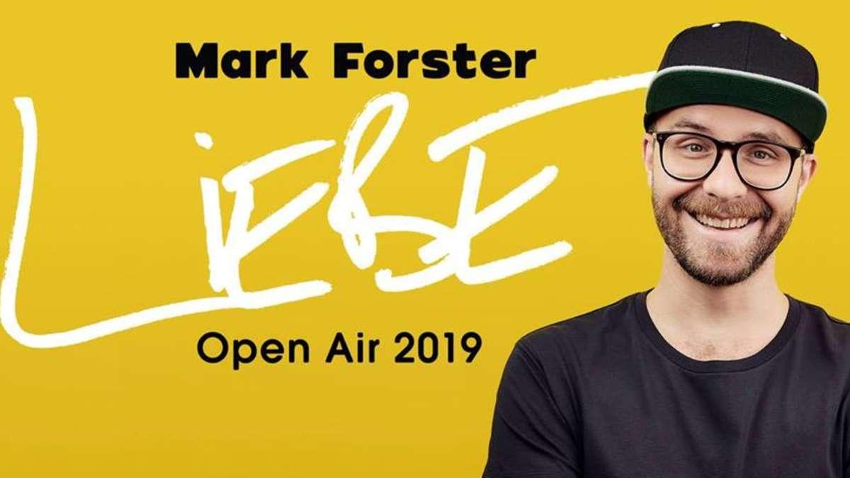 Konzert Mark Forster 2021