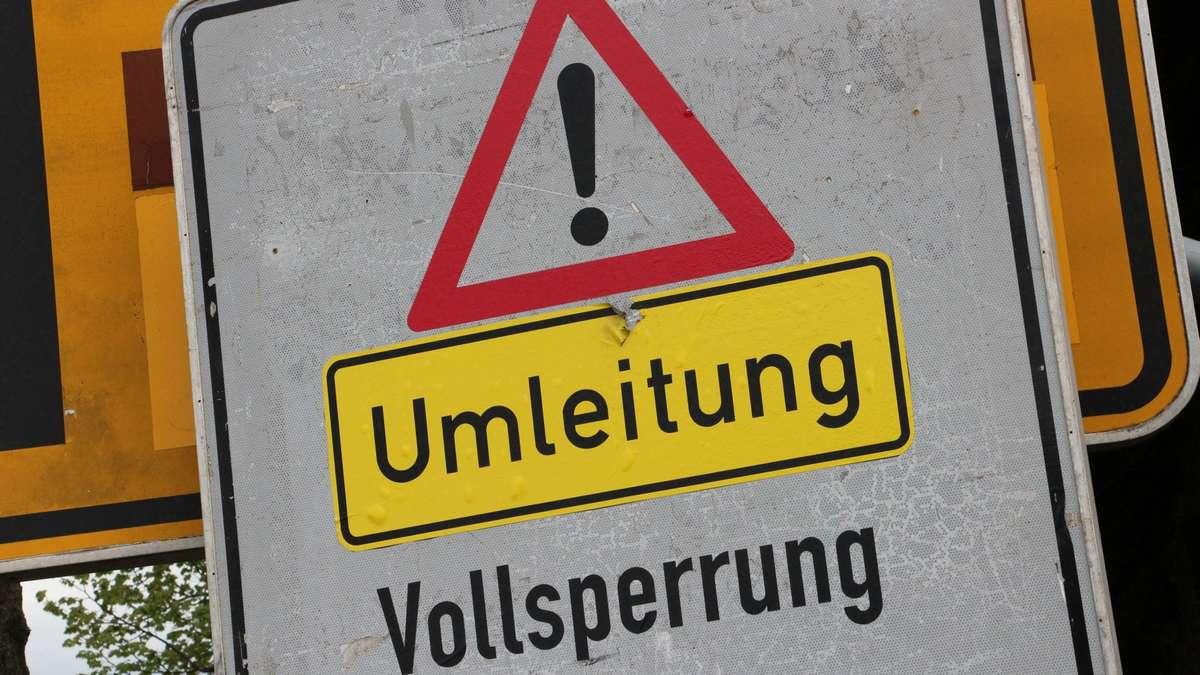 Straßensperrungen Hessen