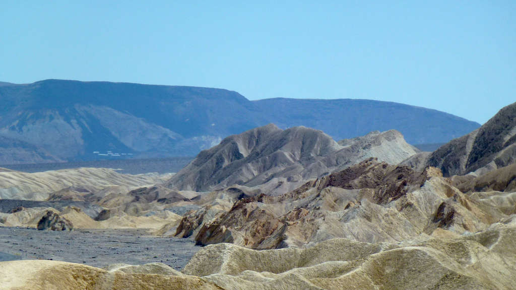 Bizarre Gesteinsformationen im Death Valley Nationalpark in Kalifornien.