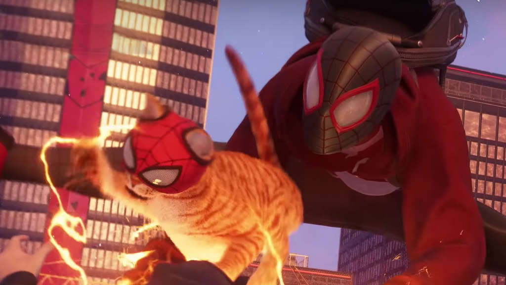 spider man miles morales katze ps5 sony playstation 5 insomniac