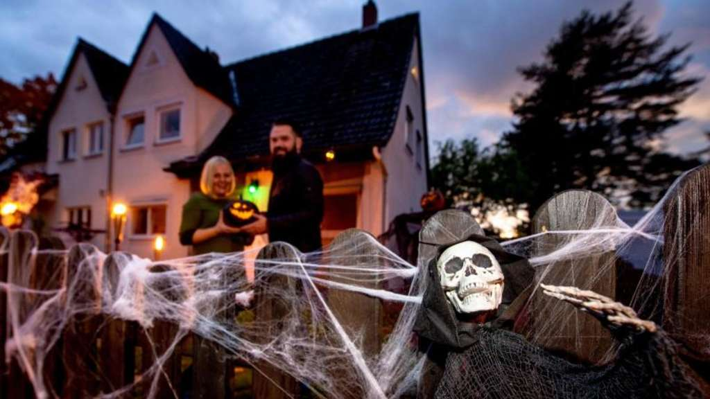 Halloween-Haus in Hannover