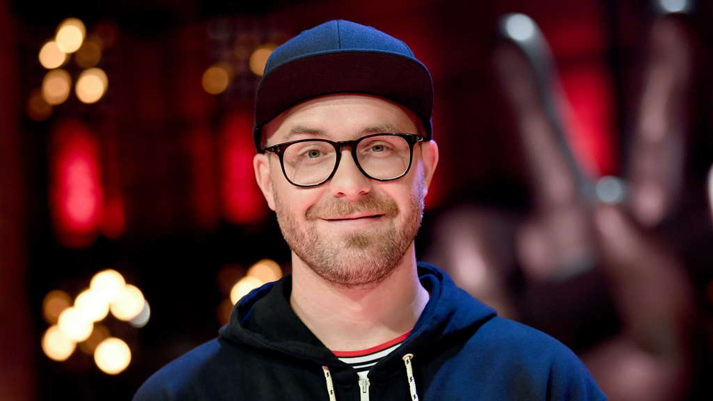 "Mark Forster am Set der Sendung ""The Voice of Germany"""