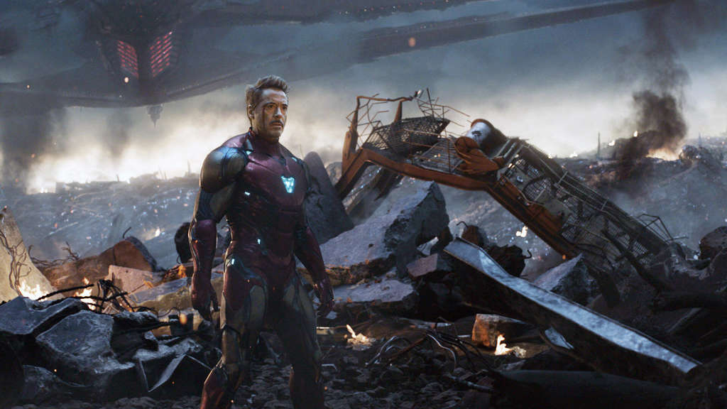 "Robert Downey Jr. als Tony Stark aka Iron Man im Film ""Avengers: Endgame""."